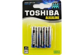 BATTERIES  TOSHIBA AAA